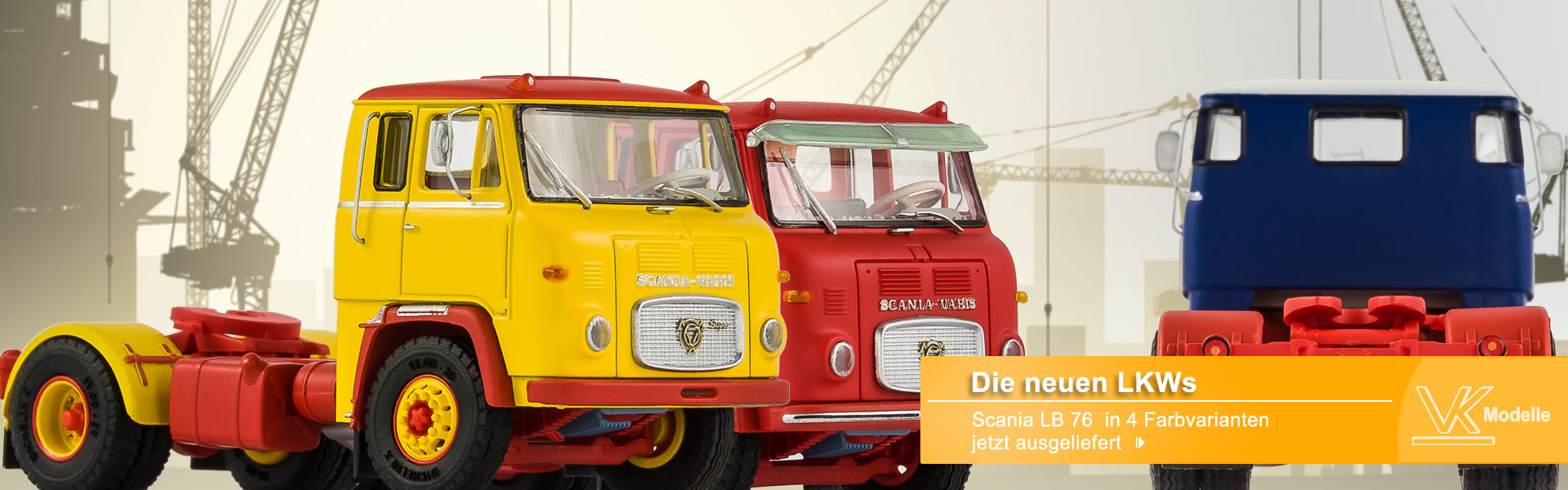 LKWs Scania LB 76 - VK-Modelle