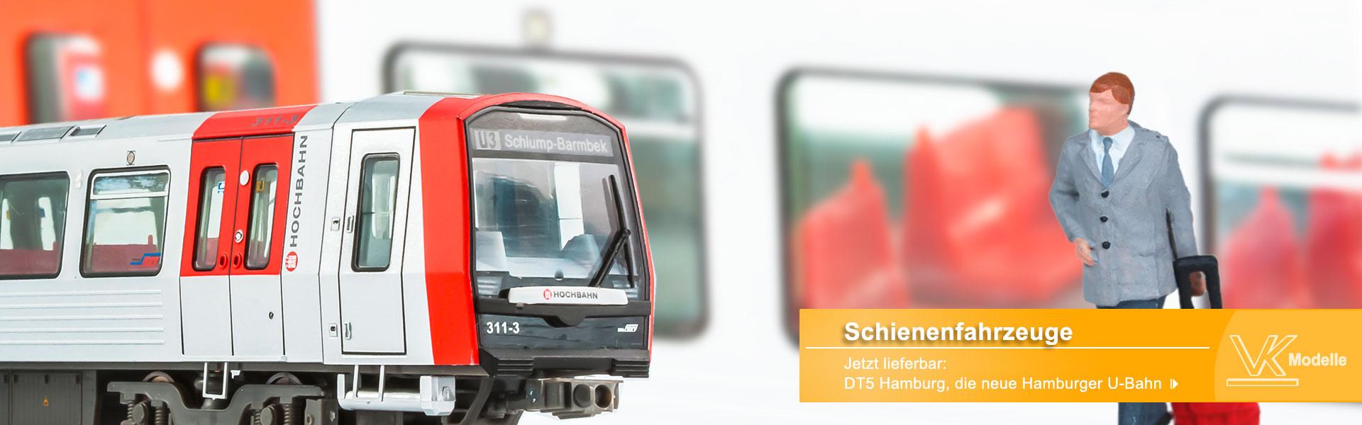 Schienenfahrzeuge - VK-Modelle