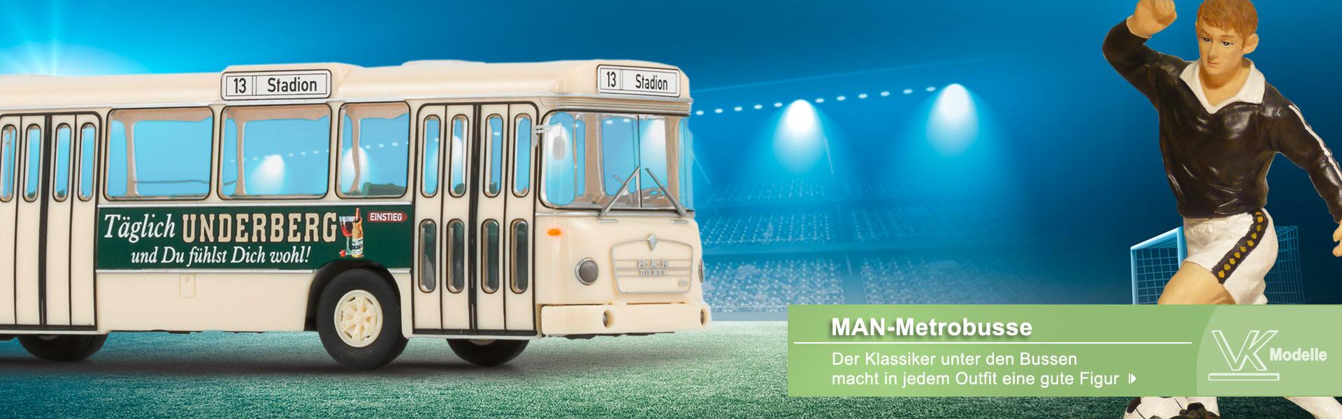 MAN-Metrobusse Underberg-Bus - VK-Modelle