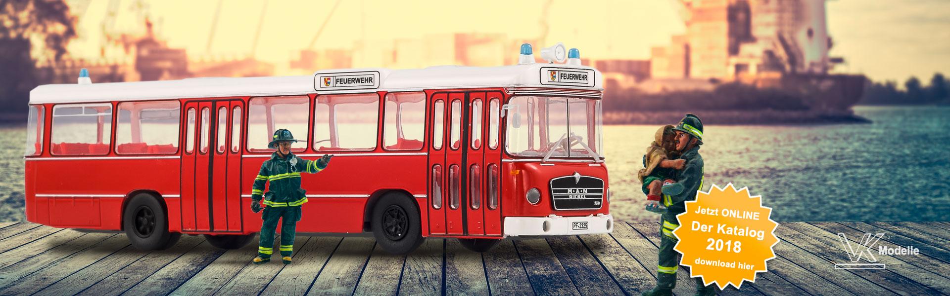 Kataloge Feuerwehrbus - VK-Modelle