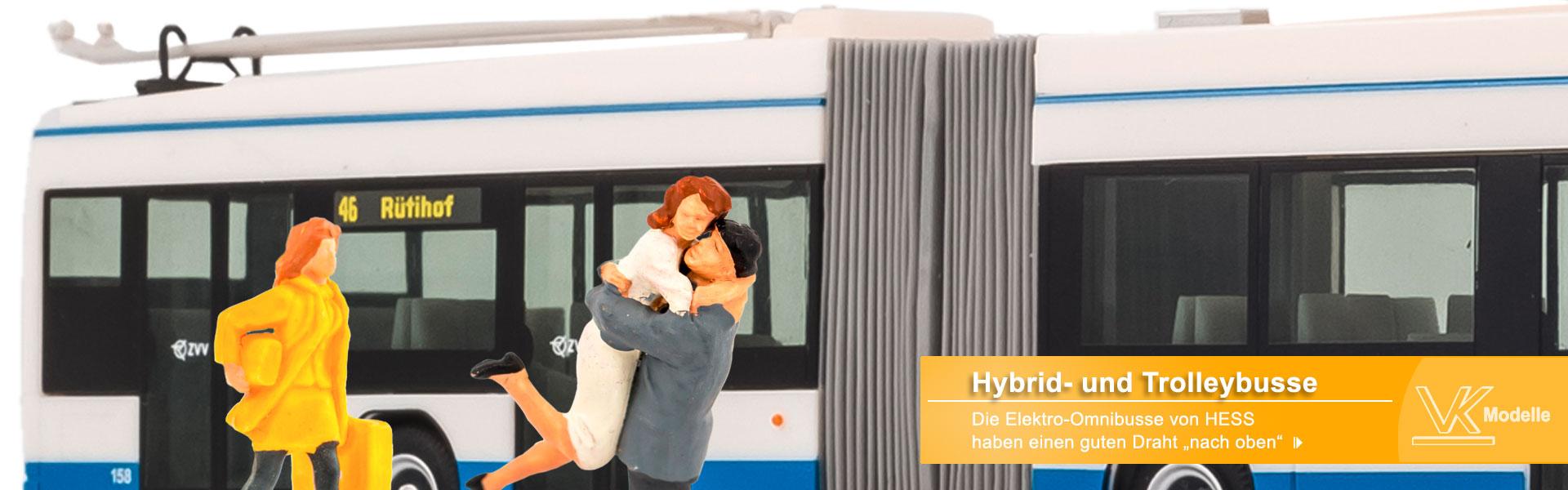 Hess Trolley- und Hybridbusse - VK-Modelle
