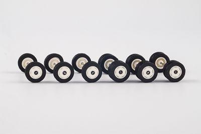 Radsatz Solaris U12, Radkappen, weiß