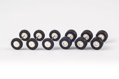 Feuerwehr-Räder (3+3 Achsen) 11,5 mm