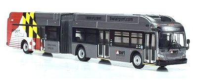 New Flyer xcelsior XN60 Articulated: BWI Airport Transfer
