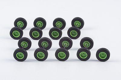 Radsatz einzeln bereift 12,75 mm, 8 Achsen