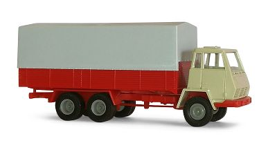 Steyr 91 Lkw mit Holzpritsche, Bausatz