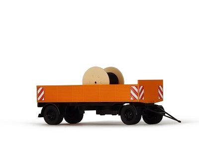 Obus-Fahrleitungsbau, Pritsche mit Trommel, Bausatz