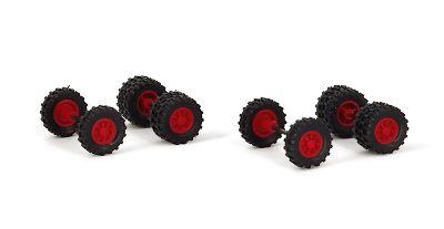 Räder Set für Kipper/Traktoren