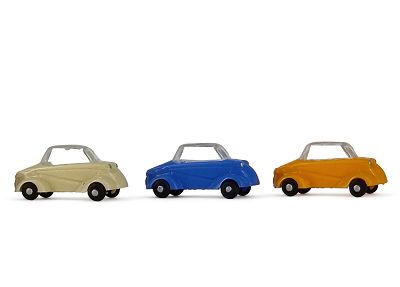 Minikit 3 x Messerschmitt TIGER,  Farbmix
