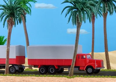 Scania 111 Lkw + Anh. Brasilien