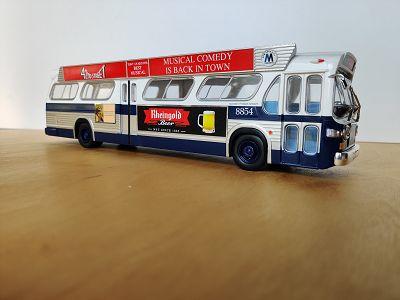 GMC TDH-5303 Transit NYC, WHITE