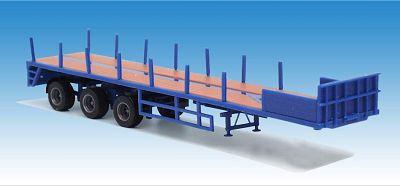 Ballast-Trailer 3achsig blau