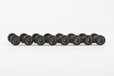 Radsatz zwillingsbereift 11,7 mm, 8 Achsen