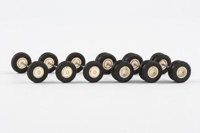 Stahlradsatz Metrobus (für 3 Busse) 11,5 mm