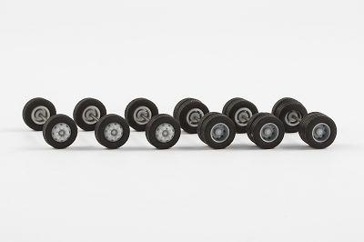 Radsatz Midibus (für 3 Busse), 9,8 mm