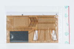 Haltestellenschilder MABEG-FIS gelb 6/Set