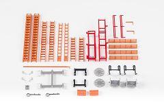 Feuerwehr-Einzelteile Set
