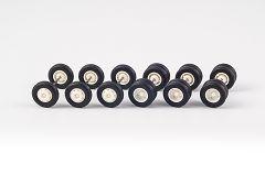 Feuerwehr-Räder (3+3 Achsen) 12 mm