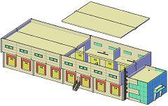 PREMIUM Umschlaghalle, 4 Tore