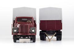 Scania 111 Lkw mit Anhänger