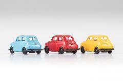 Minikit 3 x Fiat 500, Farbmix
