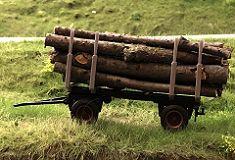 Kurzholztransporter Bausatz