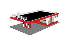 Freie Tankstelle, Bausatz
