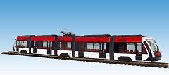 Solaris Tramino rot-weiß, 2 Hauptbhf.